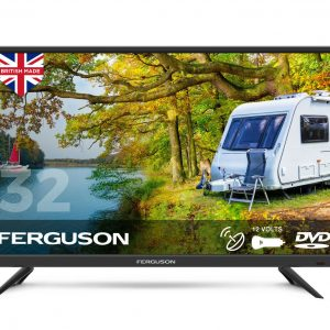 Ferguson-F32F-HD-Ready-Traveller-12v-TV-w/-Built-in-DVD-Player-&-Satellite-Tuner