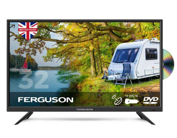 Ferguson-F32F-HD-Ready-Traveller-12v-TV-w/-Built-in-DVD-Player-&-Satellite-Tuner